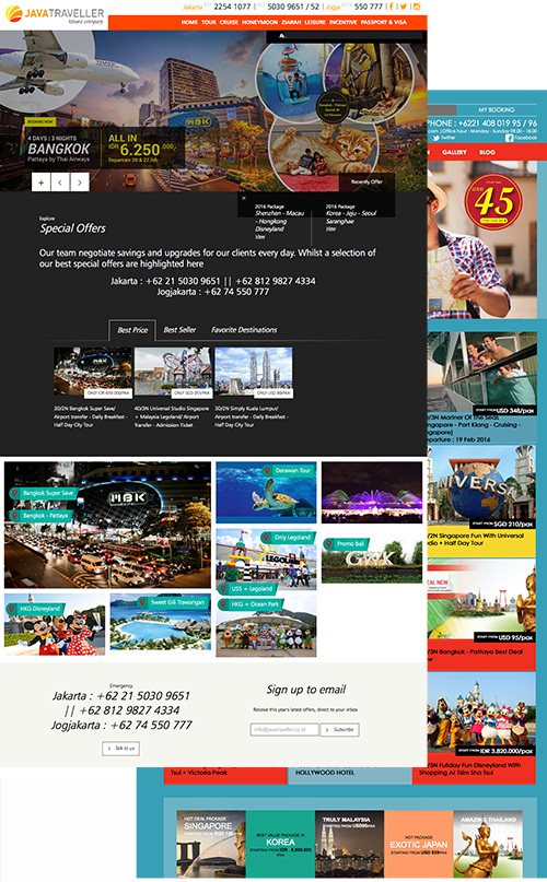 Tour & Travel Booking System